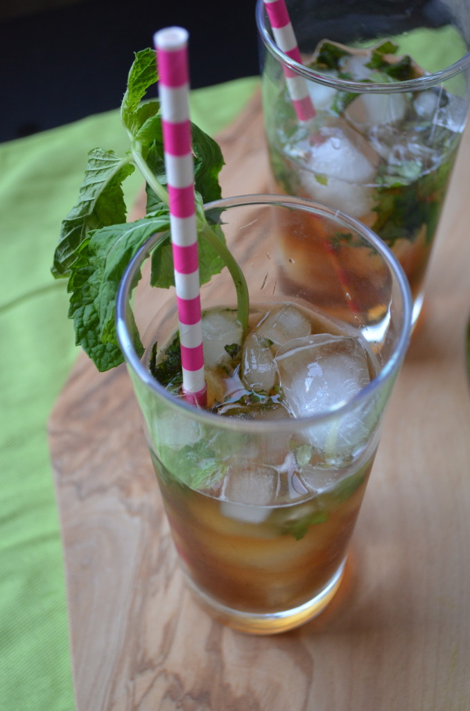 mint tea julep.
