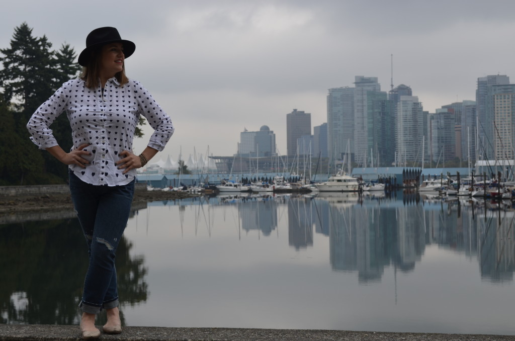 outfit on seawall.
